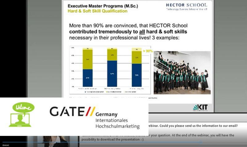"""Online Info Session """"Study and Career in Germany"""" (worldwide)"""