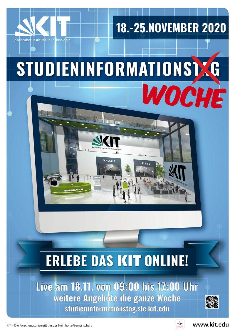 Virtuelle Studieninformationswoche des KIT