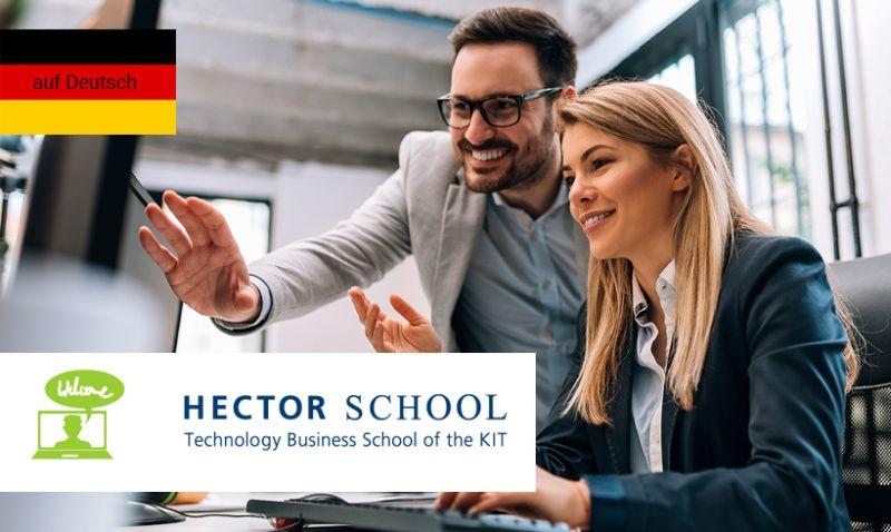 Online Info Session: HECTOR School Academy für maßgeschneiderte Weiterqualifizierung im Beruf