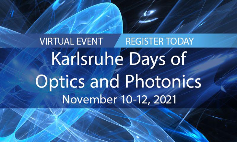 Karlsruhe Days of Optics & Photonics (KDOP)