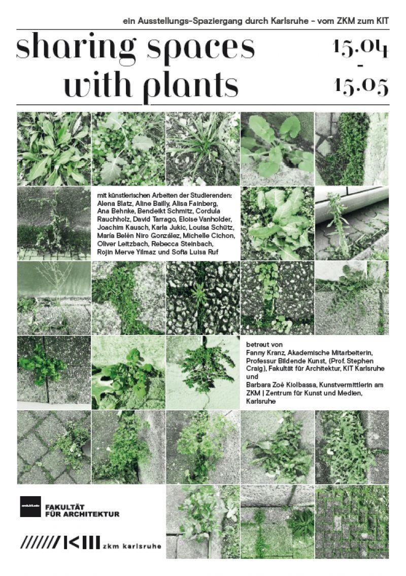 Sharing Spaces with Plants. ein Ausstellungsspaziergang durch Karlsruhe – vom ZKM zum KIT