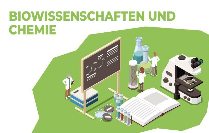 Biowissenschaften und Chemie studieren am KIT!