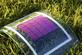 """Plastic solar cells"" have several advantages (Photo: Alexander Colsmann, KIT)"