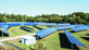 Solarspeicherpark am Campus Nord des KIT