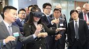 On the tenth anniversary of GAMI, the new research factory on artificial intelligence in industrial production was opened. (Photo: GAMI/KIT)