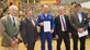 ESA astronaut Alexander Gerst received an honorary doctorate from the KIT Faculties of Physics and Civil Engineering, Geo- and Environmental Sciences (Photo: Markus Breig, KIT)