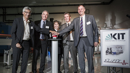 Looking into Matter: FLUTE Linear Accelerator Inaugurated