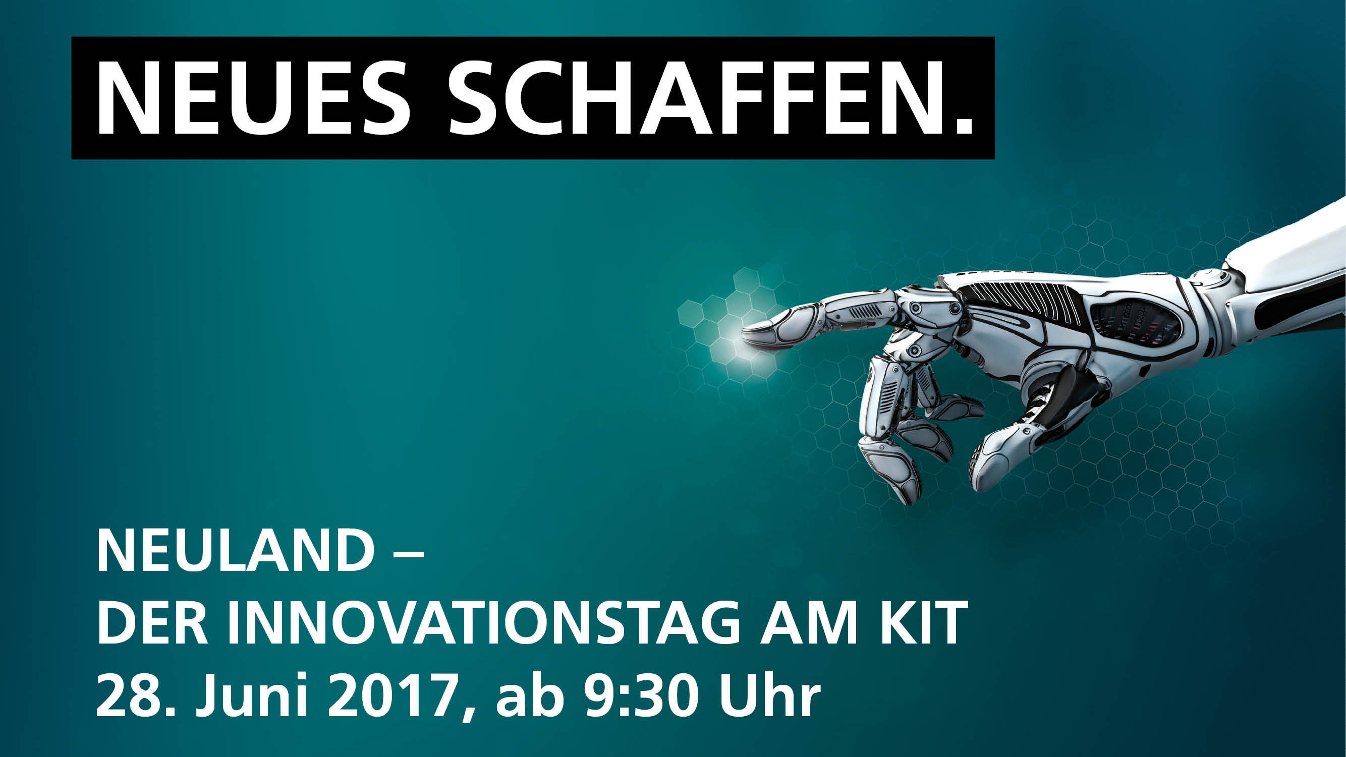 Innovationstag NEULAND am KIT (Bild: KIT)