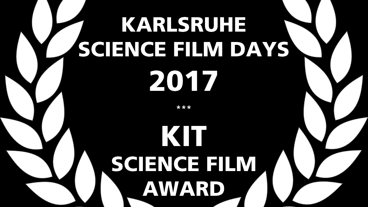 Karlsruhe Science Film Award 2017 (Grafik: ZAK)