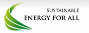 "Logo ""Sustainable Energy for all"""