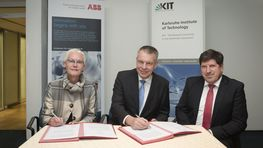KIT and ABB Continue Successful Cooperation
