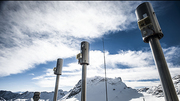 Meteorological measuring station on the Zugspitze (Photo: Markus Breig, KIT)