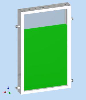 Der im Projekt ModuLES  entwickelte Photobioreaktor dient der  Kultivierung von Mikroalgen im Weltall. (Quelle: KIT)