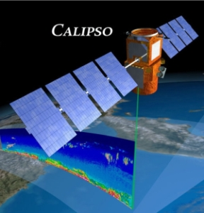 Der CALIPSO-Satellit.(Quelle: http://www.nasa.gov/mission_pages/  calipso/mission/mission-objectives_prt.htm