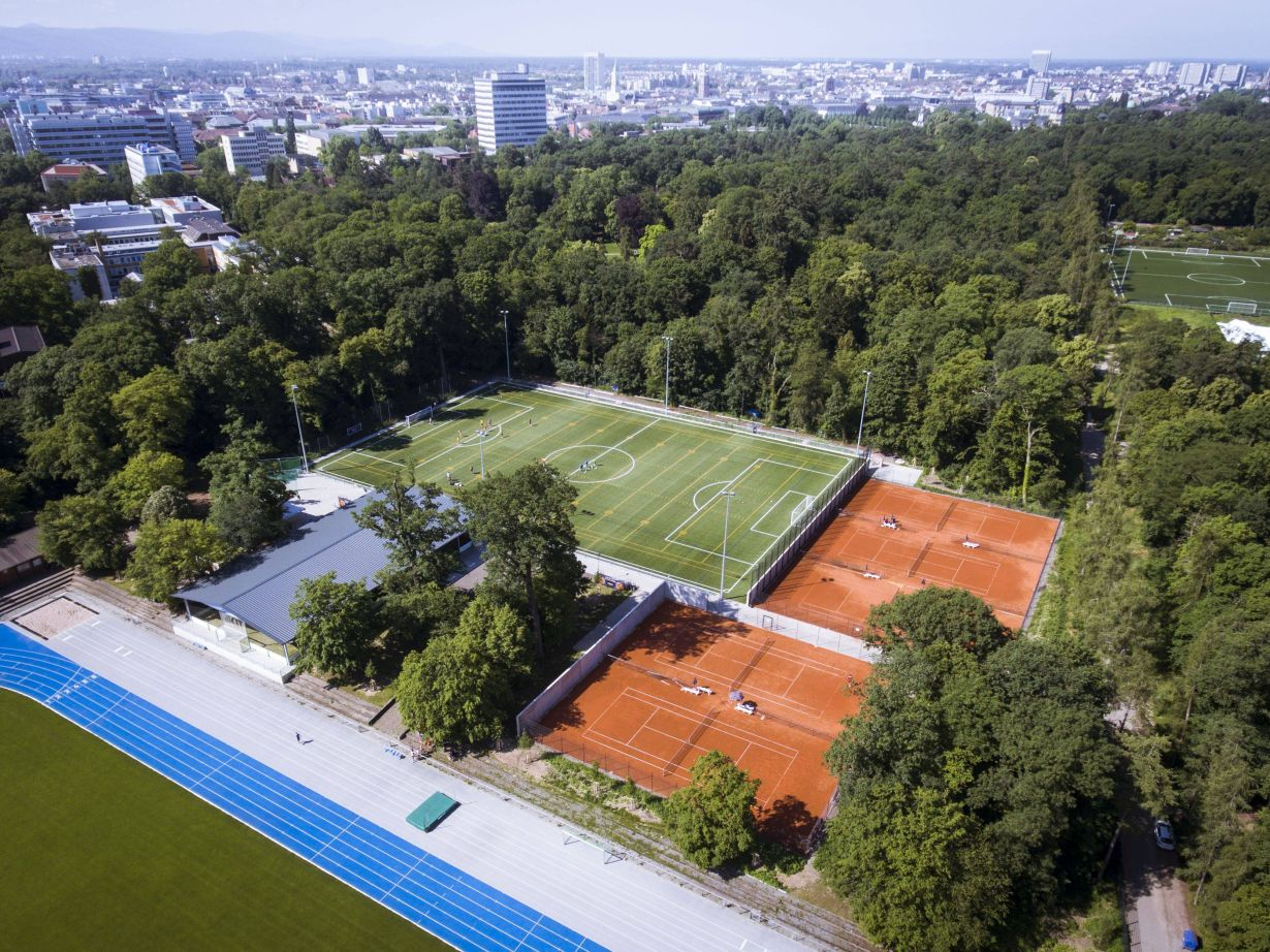 The new sports facilities of the Institute of Sports and Sports Science. (Photo: Amadeus Bramsiepe, KIT)
