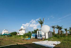 """Mit Wetterballons und der Messplattform """"KITcube"""" sammelten die Klimaforscherinnen und -forscher des KIT eine Vielzahl meteorologischer Daten (Foto: Sébastien Chastanet)"""