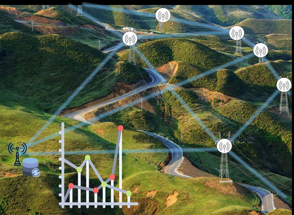 Auf ein Freileitungsmonitoring in hoher Auflösung und in Echtzeit zielt das Projekt PrognoNetz. (Abbildung: ITIV, KIT)